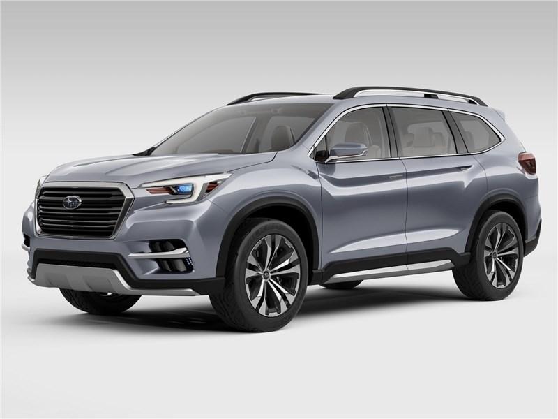 Subaru Ascent SUV Concept 2017 вид спереди