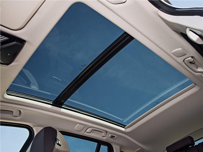 BMW X3 2018 панорамная крыша