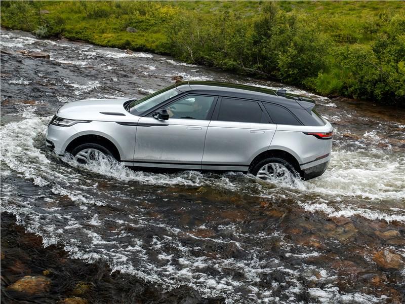 Land Rover Range Rover Velar 2018 преодоление водной преграды
