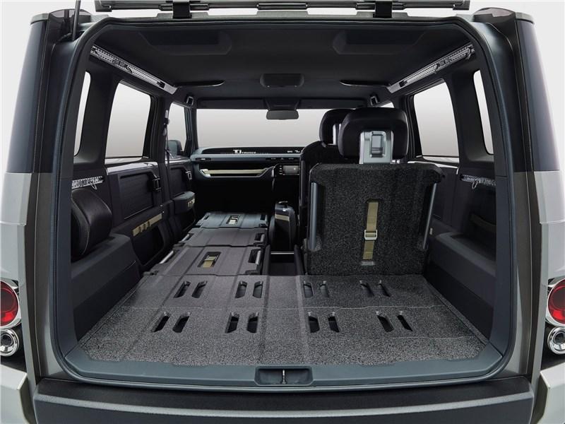 Toyota Tj Cruiser Concept 2017 багажное отделение