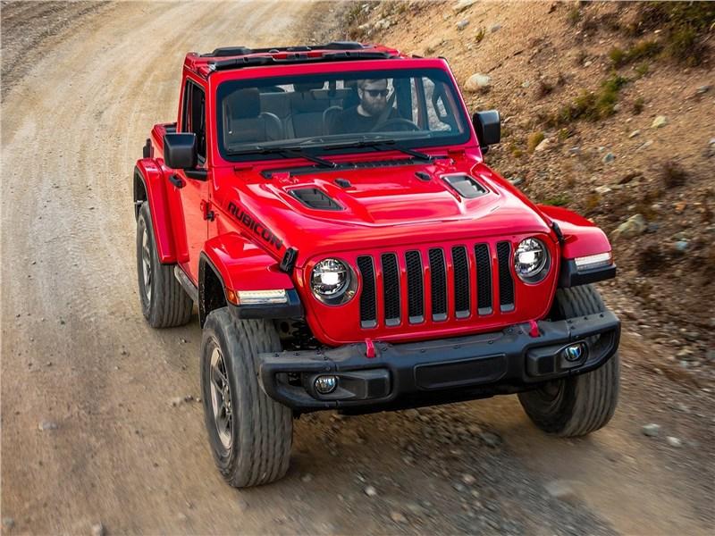 Jeep Wrangler 2018 вид спереди