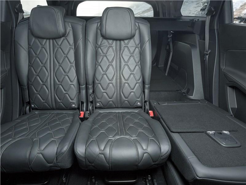 Peugeot 5008 2017 задний диван