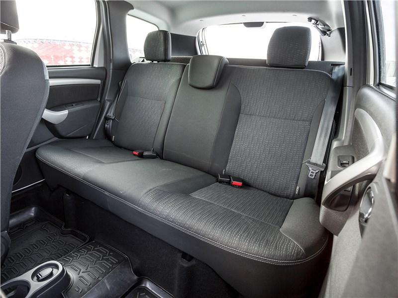 Nissan Terrano 2016 задний диван