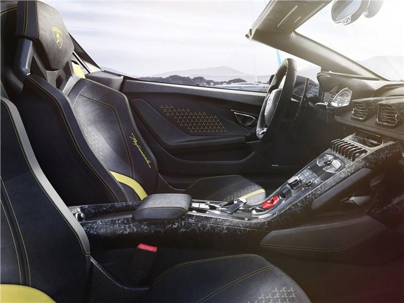 Lamborghini Huracan Performante Spyder 2019 передние кресла