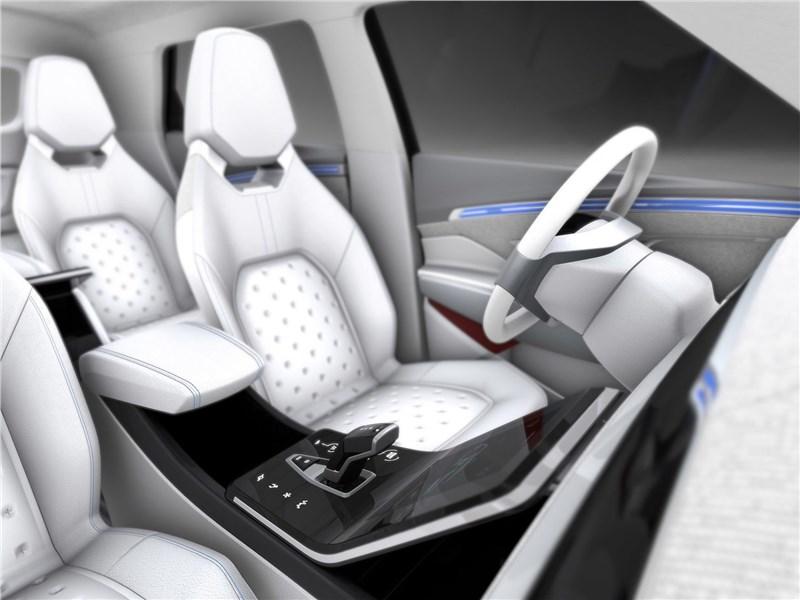 SsangYong e-SIV EV Concept 2018 передние кресла