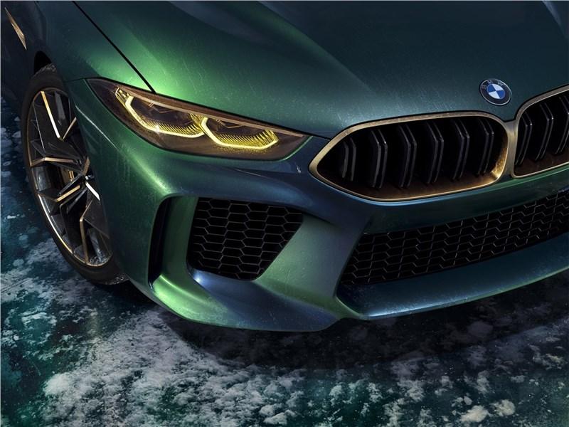 BMW M8 Gran Coupe Concept 2018 фара