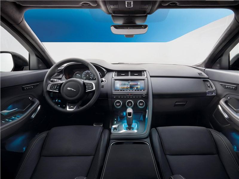Jaguar E-Pace 2018 салон