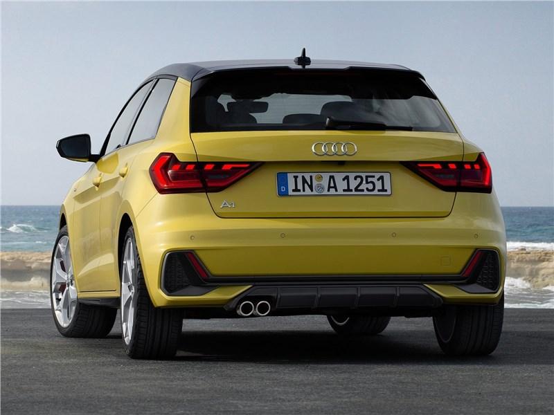 Audi A1 Sportback 2019 вид сзади