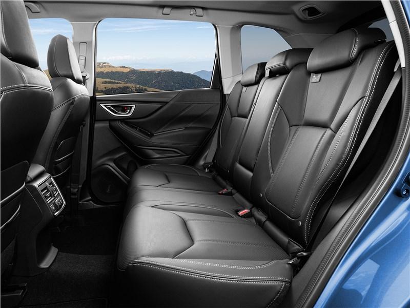 Subaru Forester 2019 задний диван