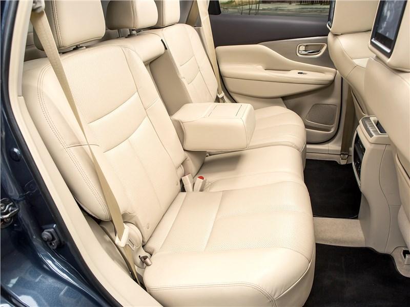 Nissan Murano 2015 задний диван