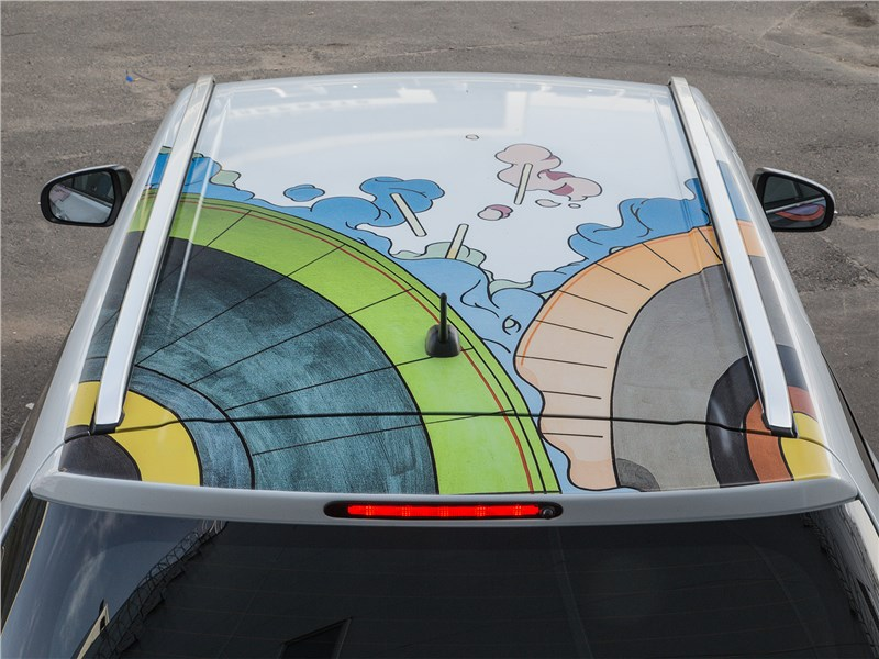 Suzuki SX4 2016 крыша