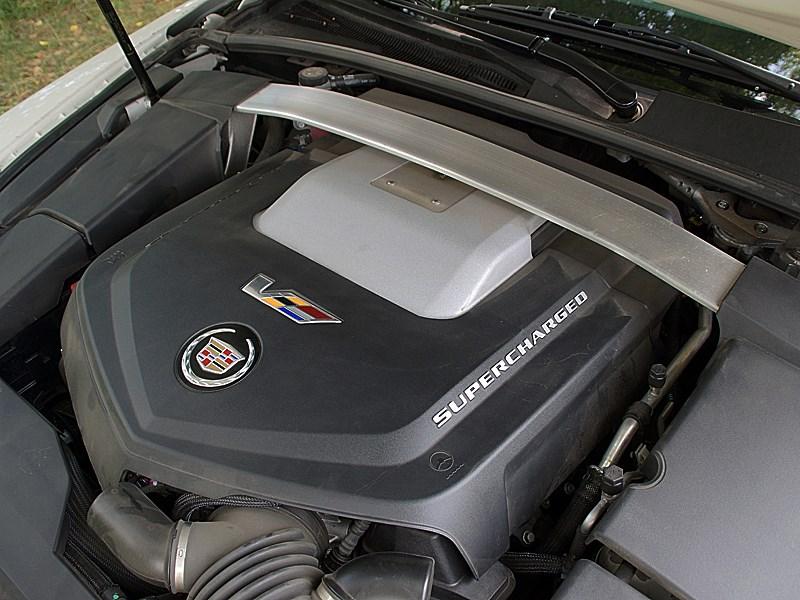 Cadillac CTS-V 2009 двигатель