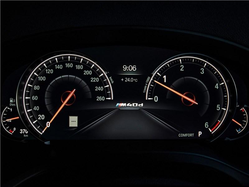 BMW X4 M 2019 приборная панель