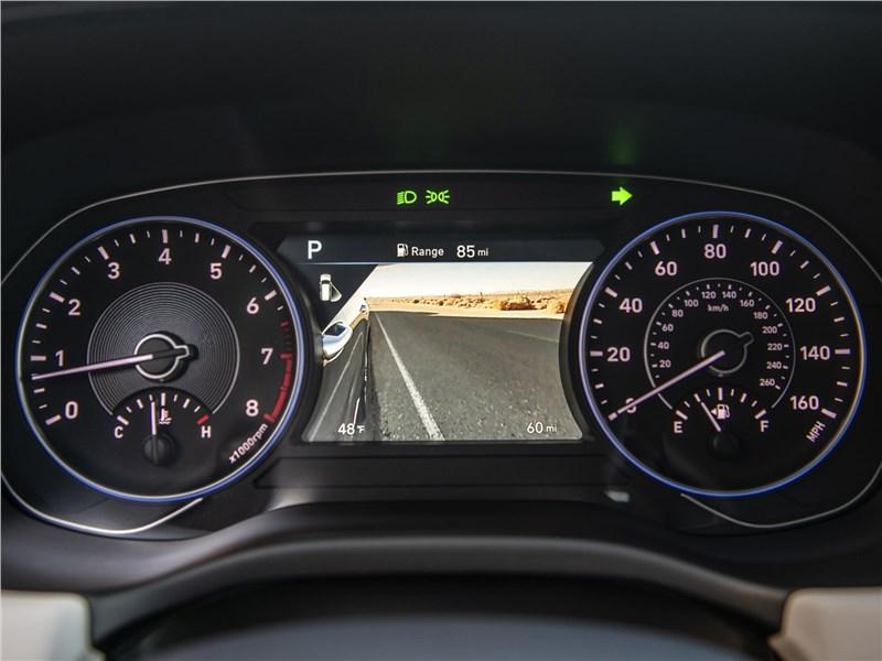 Hyundai Palisade 2020 приборная панель