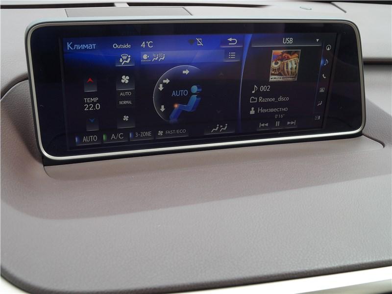 Lexus RX 350L 2018 монитор