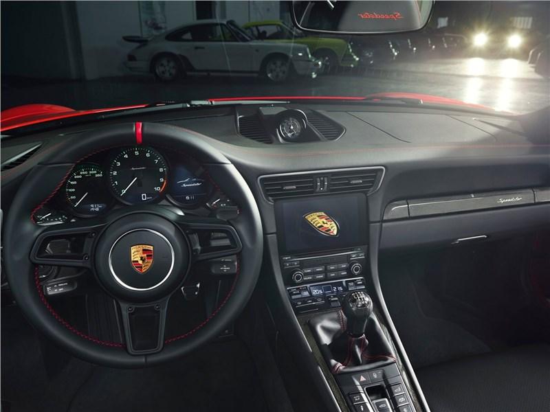 Porsche 911 Speedster 2019 салон