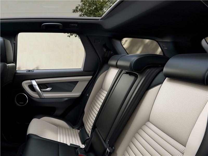 Land Rover Discovery Sport 2020 задний диван