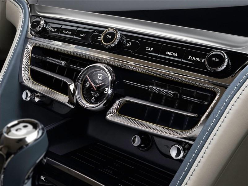 Bentley Flying Spur 2020 центральная консоль