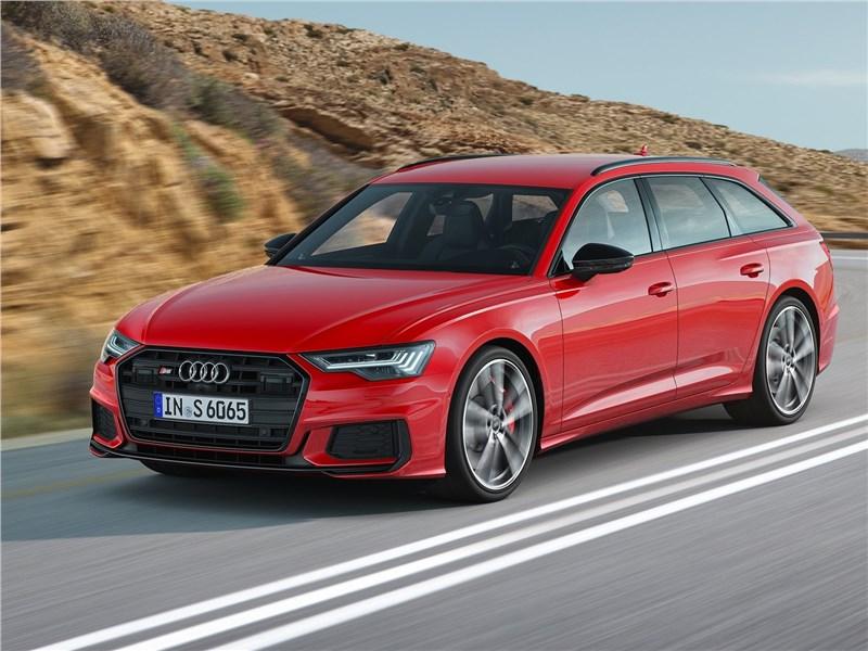 Audi S6 Avant TDI 2020 вид спереди
