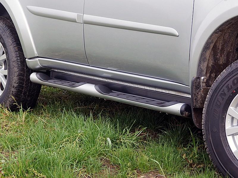 Mitsubishi Pajero Sport 2013 пороги