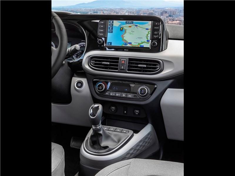 Hyundai i10 2020 центральная консоль