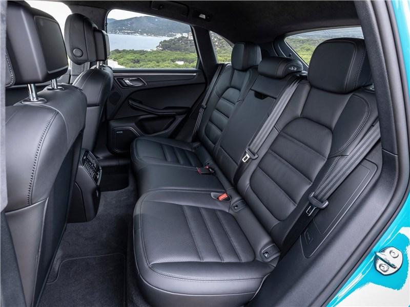 Porsche Macan 2019 задний диван