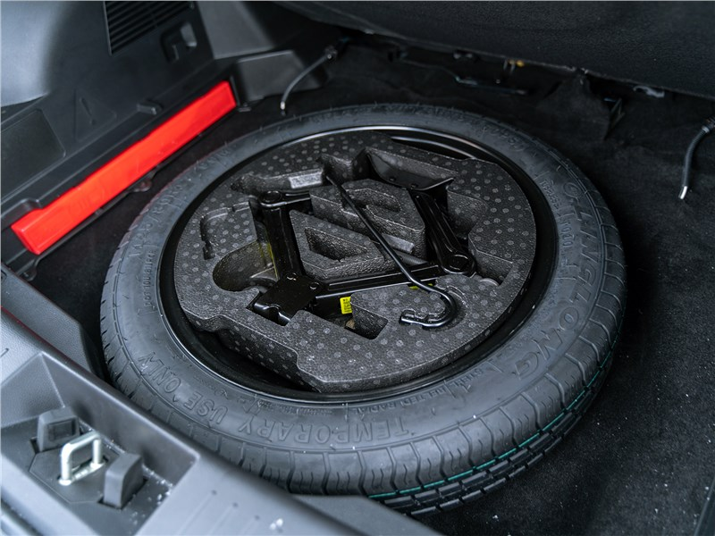 Chery Tiggo 4 2020 запасное колесо