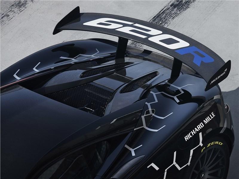 McLaren 620R 2020 задний спойлер