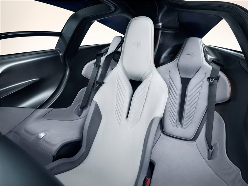 McLaren Speedtail 2020 передние кресла