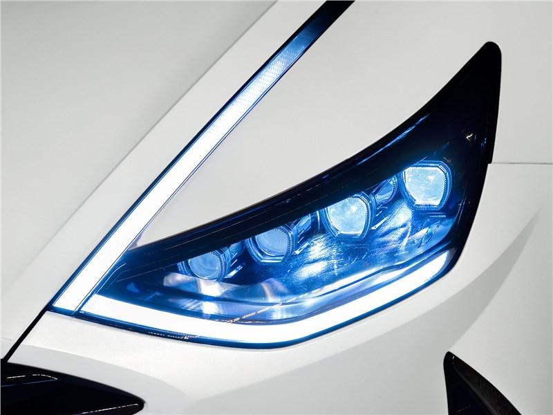 Hyundai Sonata 2020 передняя фара