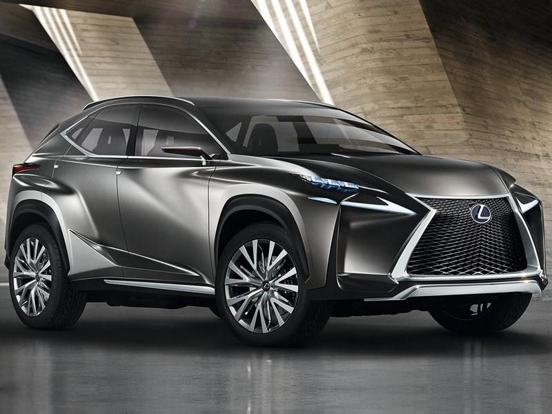Серийная версия Lexus LF-NX появится на рынке на год раньше