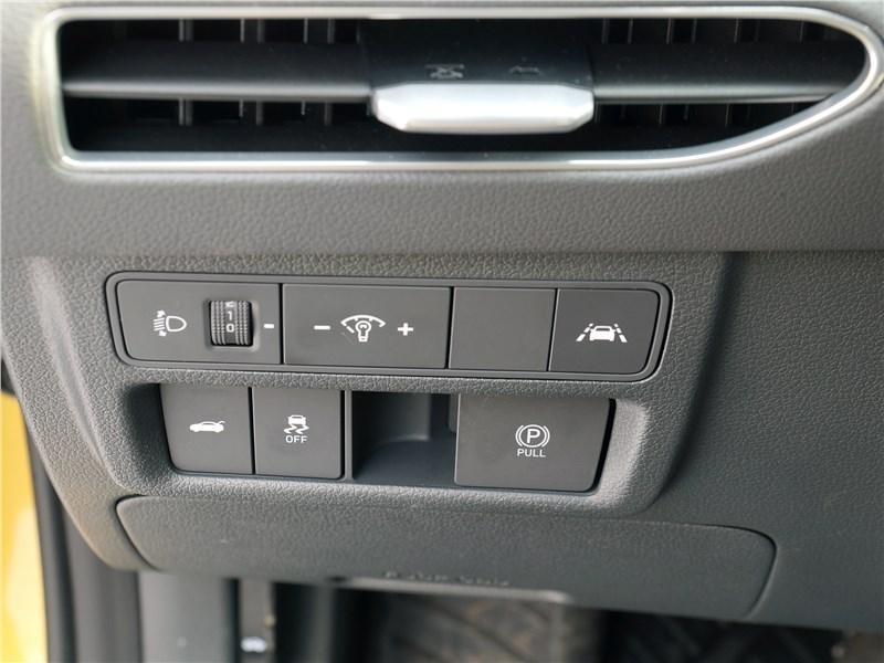 Hyundai Sonata 2020 кнопки управления