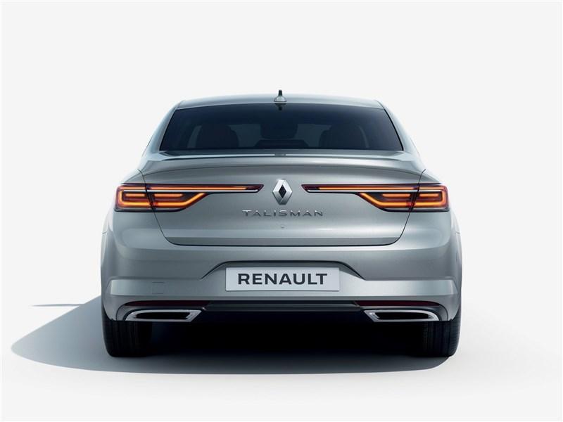 Renault Talisman 2020 вид сзади
