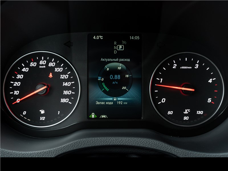 Mercedes-Benz Sprinter 2018 приборная панель