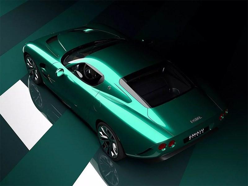 Ателье Zagato выпустит карбоновый суперкар с 6,8-литровым мотором