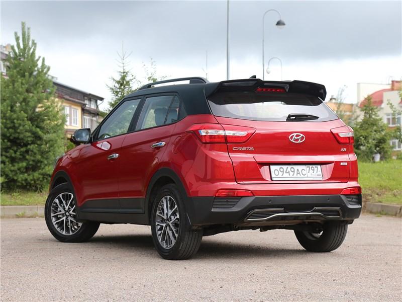 Hyundai Creta 2020 вид сзади