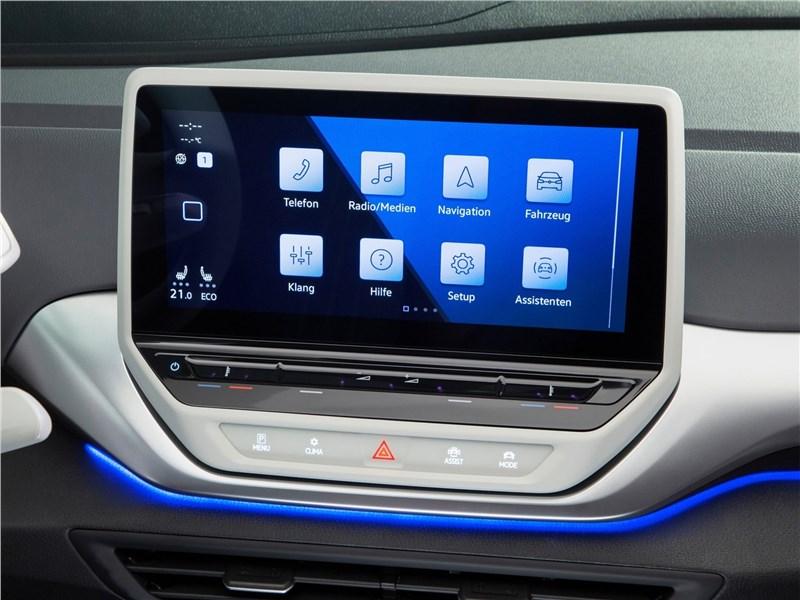 Volkswagen ID.4 (2021) монитор