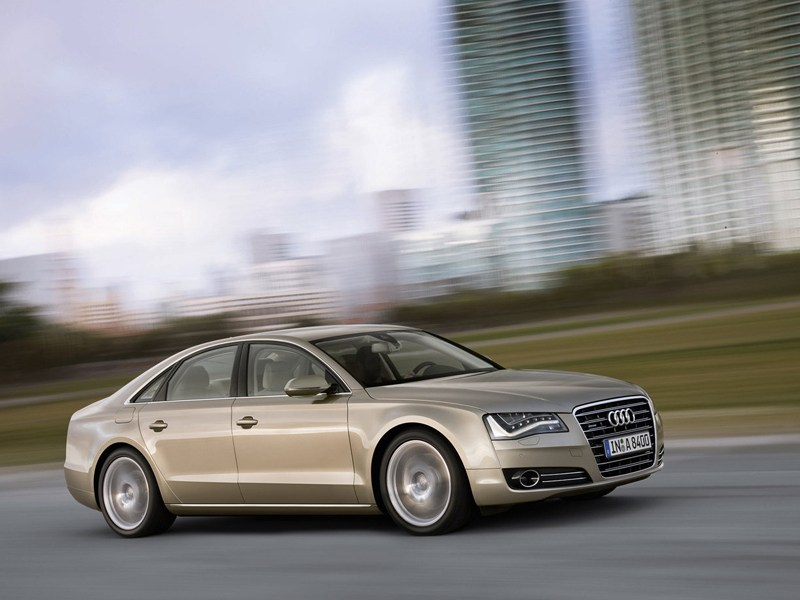 Немецкий триумвират (Audi A8, BMW 7-Series, Mercedes-Benz S-Klasse) A8 поколение D4