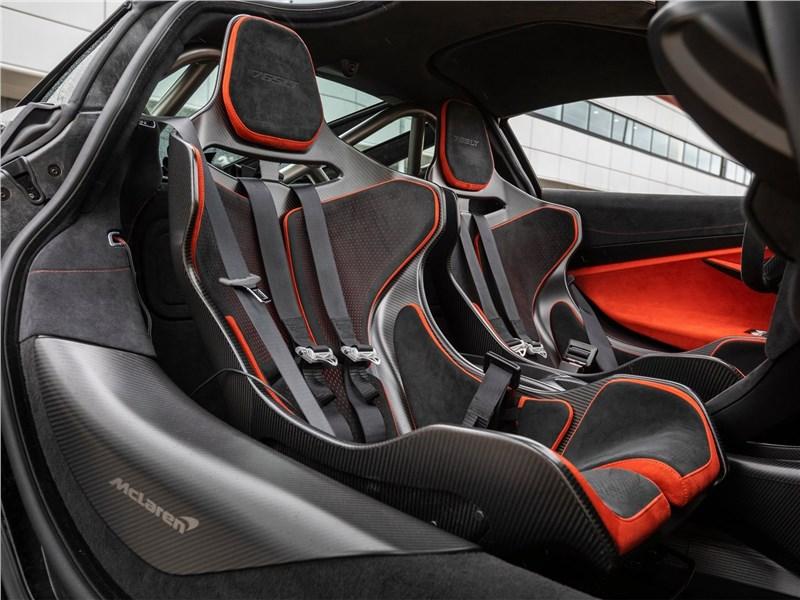 McLaren 765LT (2021) кресла