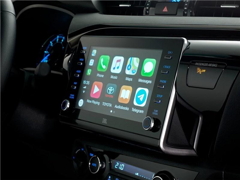 Toyota Hilux (2021) монитор