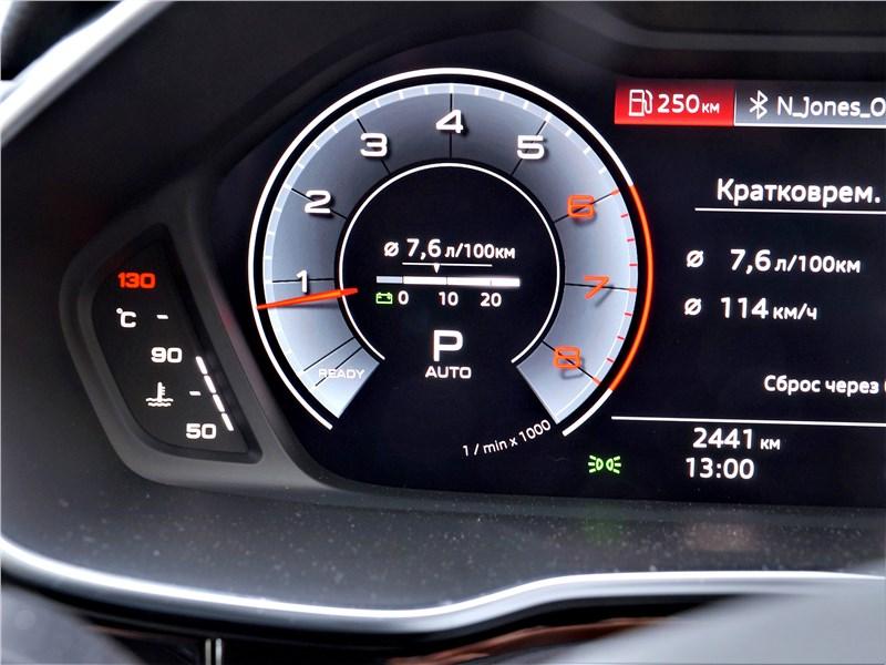 Audi Q3 2019 приборная панель
