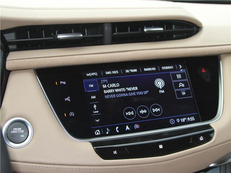 Cadillac XT5 2020 монитор