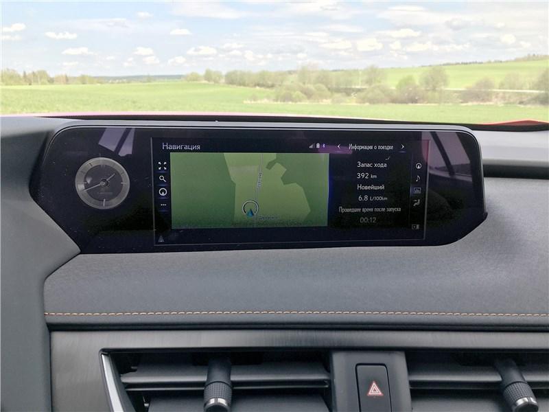 Lexus UX 250H (2019) монитор