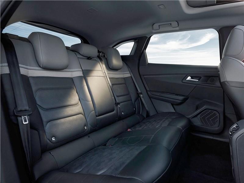 Citroen C5 X (2022) задний диван