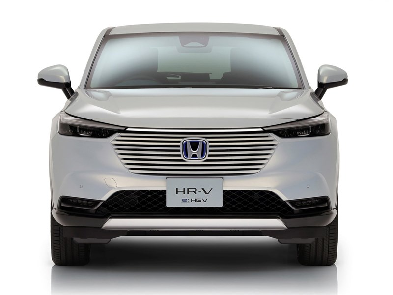 Honda HR-V (2022) вид спереди