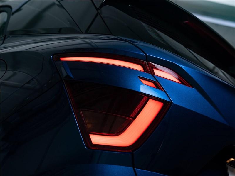 Hyundai Creta (2020) вид спередиHyundai Creta (2020) задний фонарь