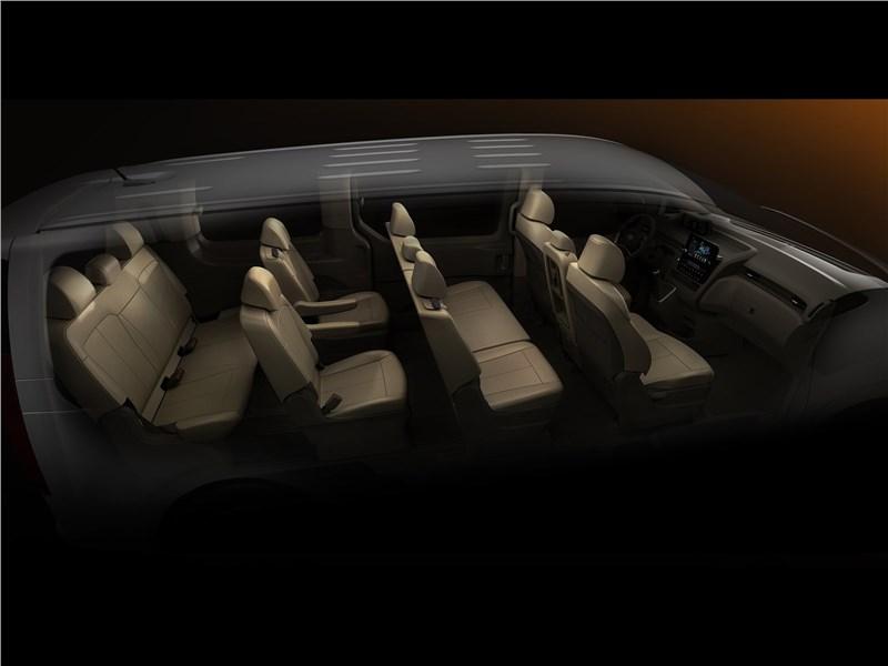 Hyundai Staria (2022) салон
