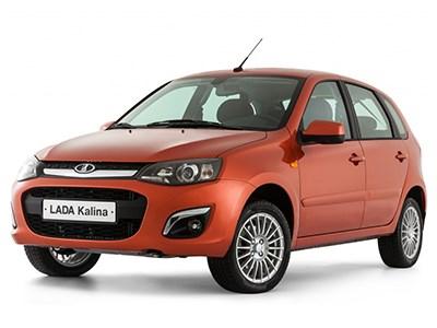Продажи автомобилей Lada падают, популярность Lada Kalina растет