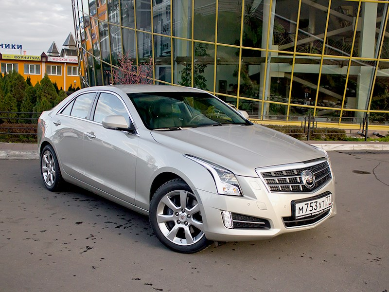 Cadillac ATS - cadillac ats 2012 вид спереди