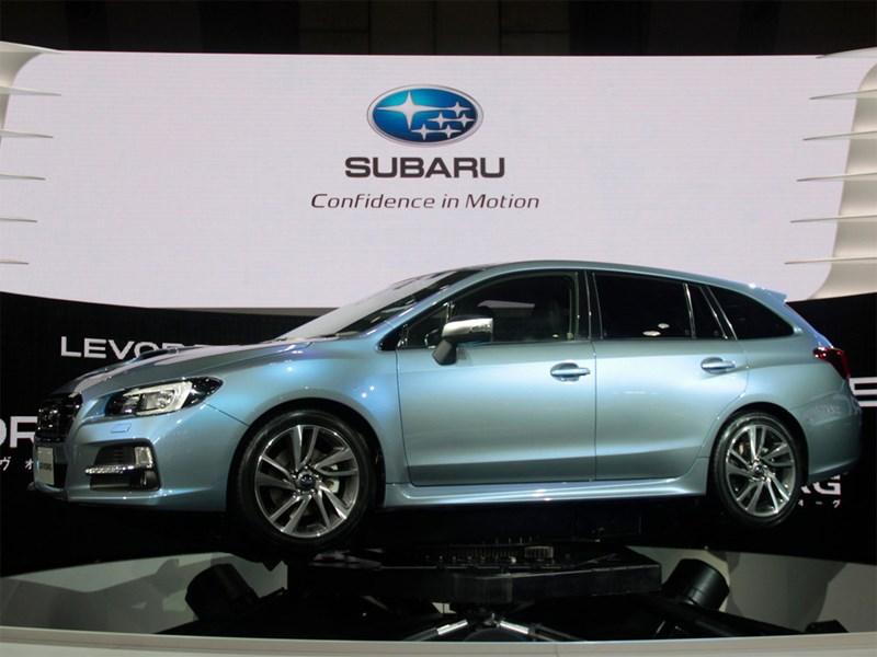 Состоялась презентация прототипа универсала Subaru Levorg